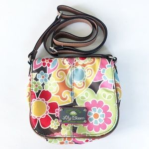 Lily Bloom Floral Paisley Patterned Crossbody Bag